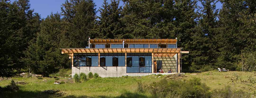 Orcas Island construction